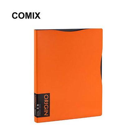 Comix Origin Display Folders 40 Pages Orange - Front View