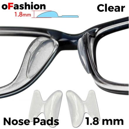 Nose Pads For Spectacle - Clear 1.8mm