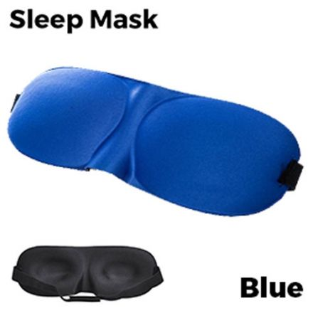Sleeping Eye Mask 3D - Blue Unisex