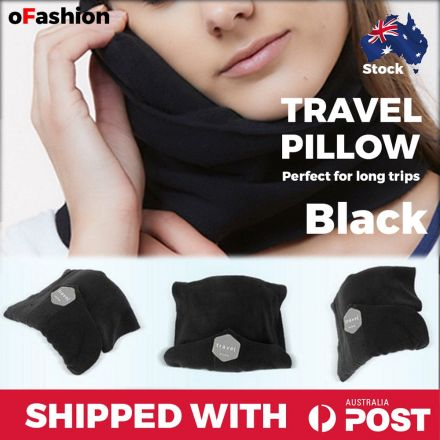 Travel Pillow Black