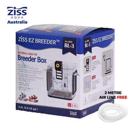 Ziss Aqua EZ Breeder Aquarium Fish Tank Fry Breeding Box Hatchery Isolation Box BL-3 Side View