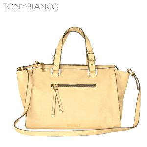 Tony Bianco - The Street Oxford Tote - Beige - Front