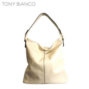 Beau Putty Hobo Slouch Bag - Tony Bianco Handbags