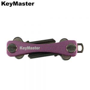 KeyMaster - Pink Smart Key Organiser Front