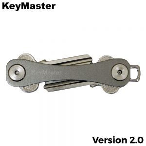 KeyMaster - Grey Short Smart Key Organiser Front