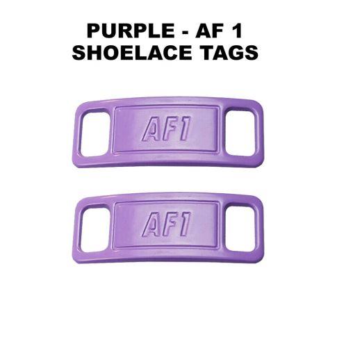 AF 1 Purple Shoelace Charm Buckle