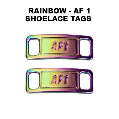 AF 1 Rainbow Shoelace Charm Buckle