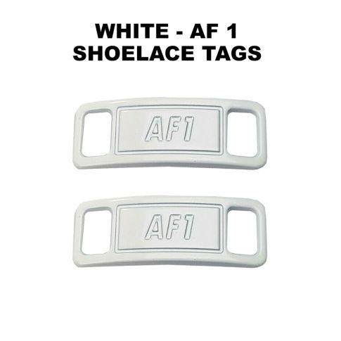 AF 1 White Shoelace Charm Buckle