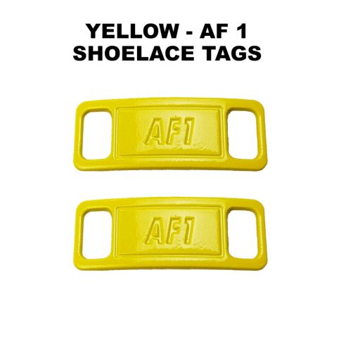 AF 1 Yellow Shoelace Charm Buckle