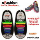 No Tie Shoelaces Silicone Multi Colour 16 Pieces - Main