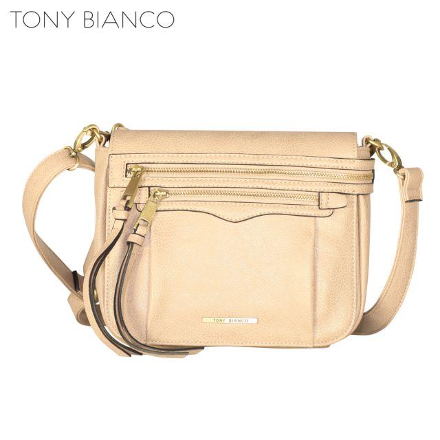 Tony Bianco - Hazy Shade Of Winter Penny Xbdoy Flapover - Nude - Front