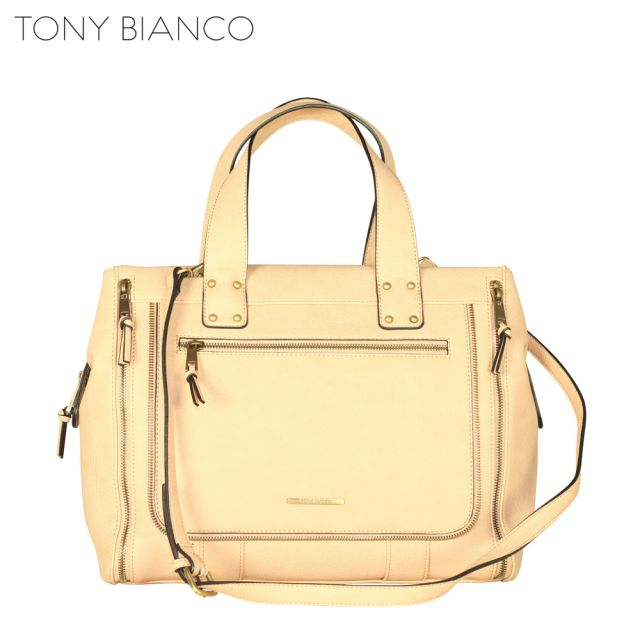 Tony Bianco - Sands Of Time Cian Satchel - Sand - Front