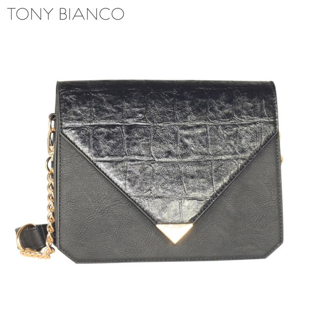 Tony Bianco - Excess Luggage Coco Clutch - Black - Front