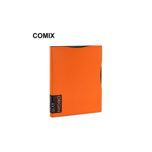 Comix Origin Display Folders 30 Pages Orange - Front View