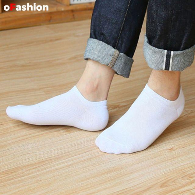 Ankle Socks - White