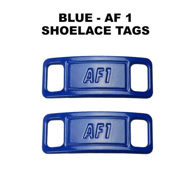 AF 1 Blue Shoelace Charm Buckle