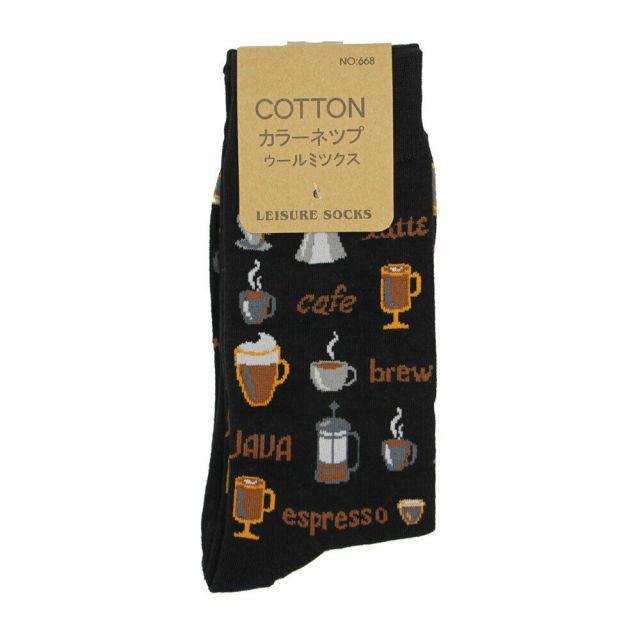 Coffee Lover Crew Socks