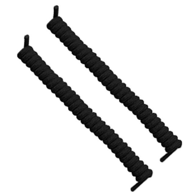 Black Curly Shoelace
