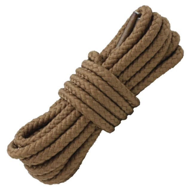 Length: 80cm   Diameter: 5mm   Dark Khaki Solid Shoelace / Bootlace Round