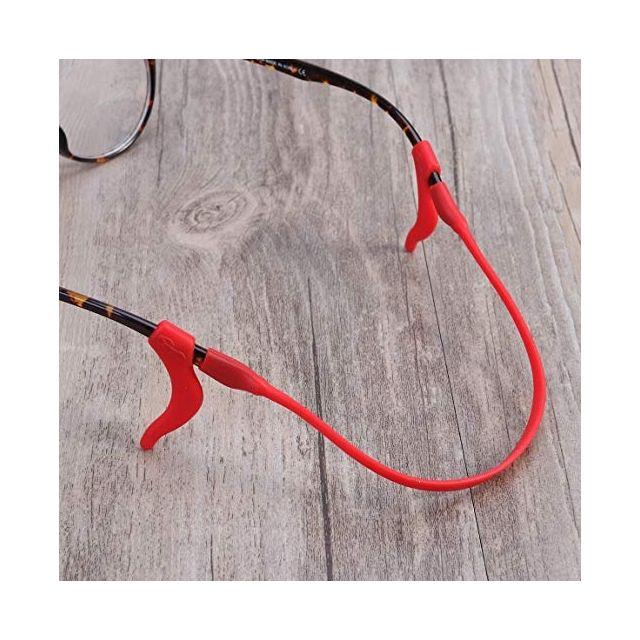 Kids Ear Hooks & Lanyard - Red