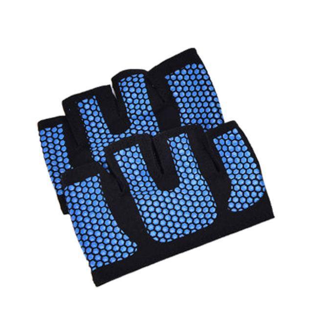 Black Fingerless Gym Gloves