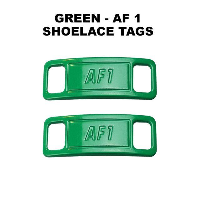 AF 1 Green Shoelace Charm Buckle