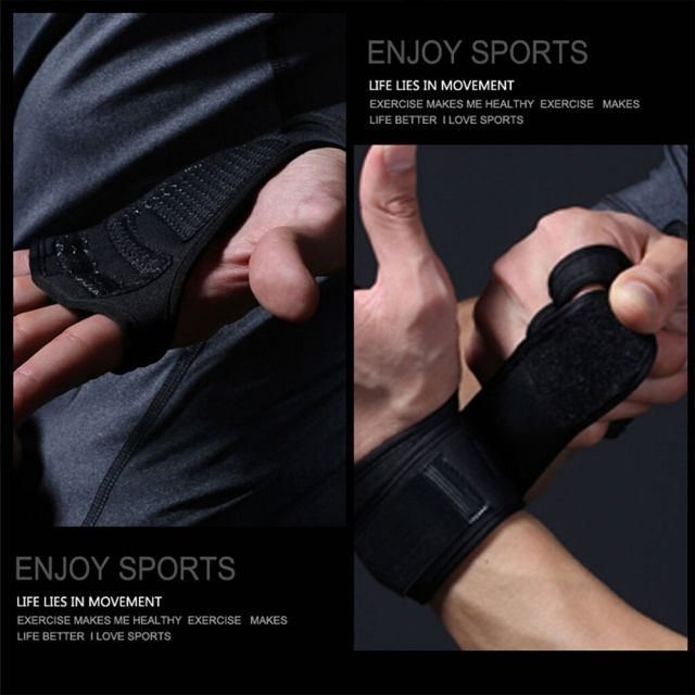 Blue Weight Lifting Gym Gloves