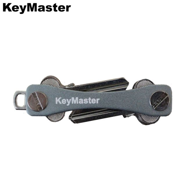 KeyMaster - Grey Smart Key Organiser Front