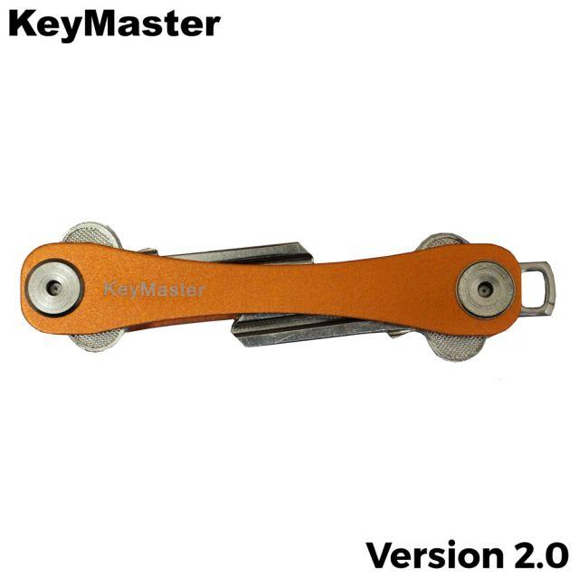 KeyMaster - Orange Smart Key Organiser Front