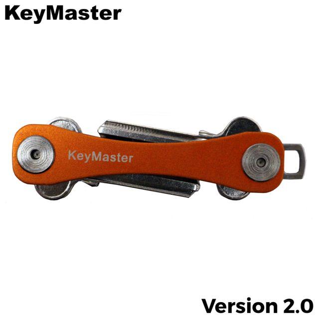KeyMaster - Orange Short Smart Key Organiser Front