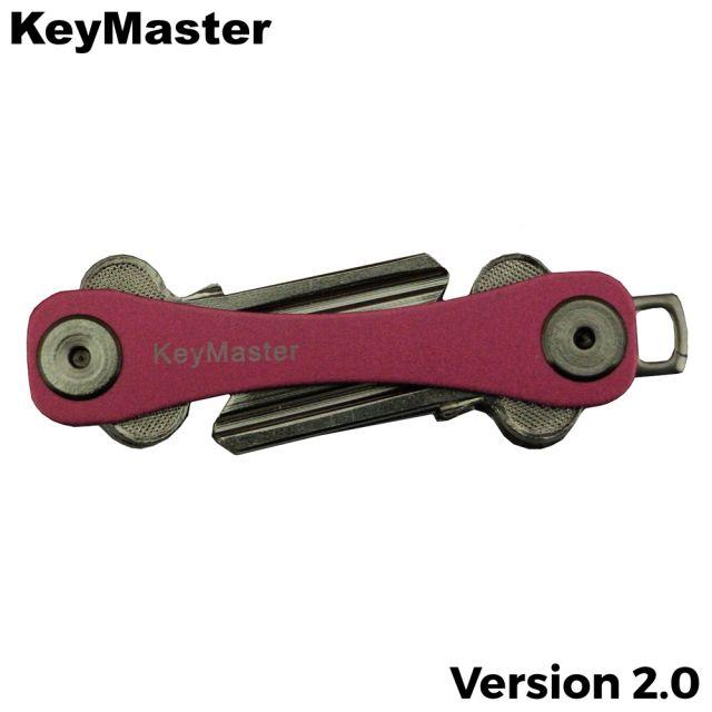 KeyMaster - Pink Short Smart Key Organiser Front