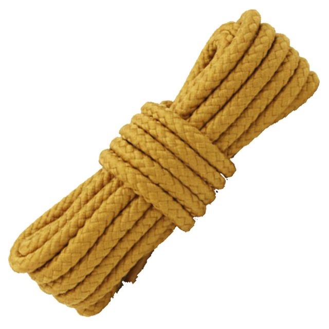 Length: 80cm   Diameter: 5mm   Light Brown Solid Shoelace / Bootlace Round