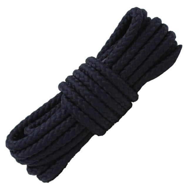 Length: 80cm   Diameter: 5mm   Navy Blue Solid Shoelace / Bootlace Round