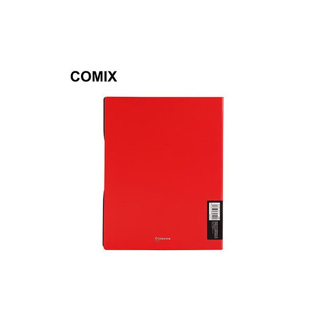 Comix Origin Display Folders 30 Pages Red - Back View