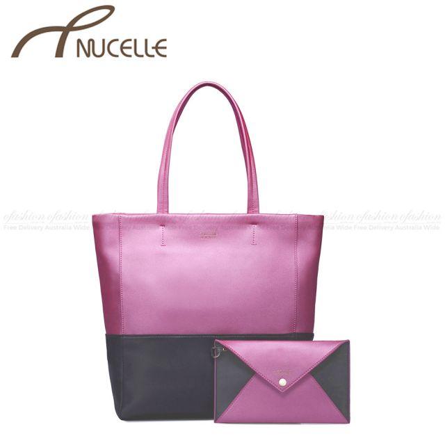 Rose Red Black Hobo Bag - Nucelle Handbags - Front