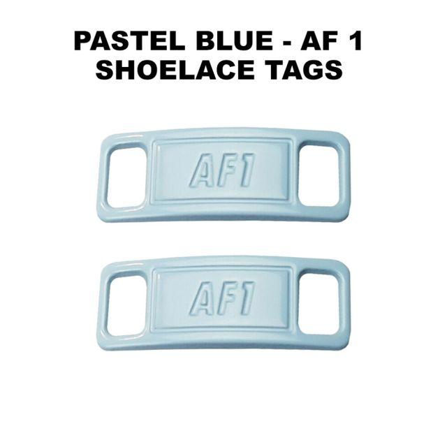 AF 1 Pastel Blue Shoelace Charm Buckle