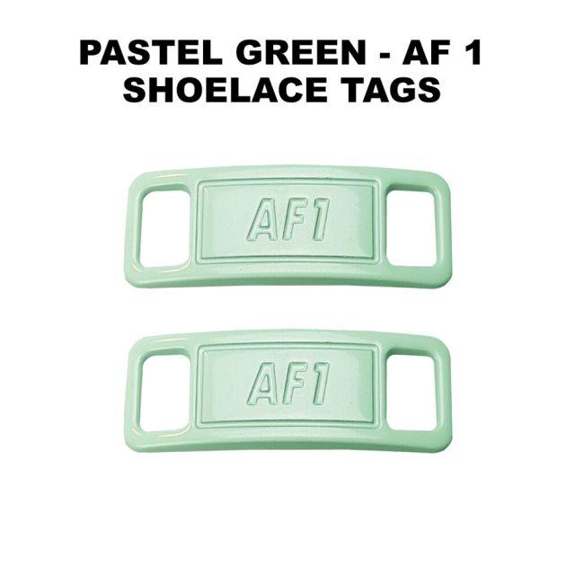 AF 1 Pastel Green Shoelace Charm Buckle