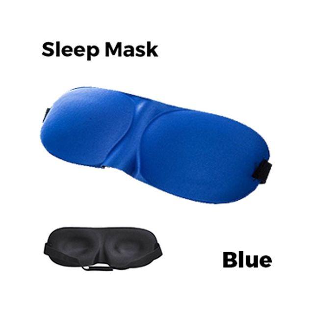 Sleeping Eye Mask 3D - Blue Unisex