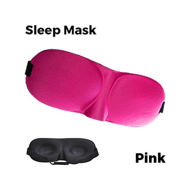 Sleeping Eye Mask 3D - Pink Unisex
