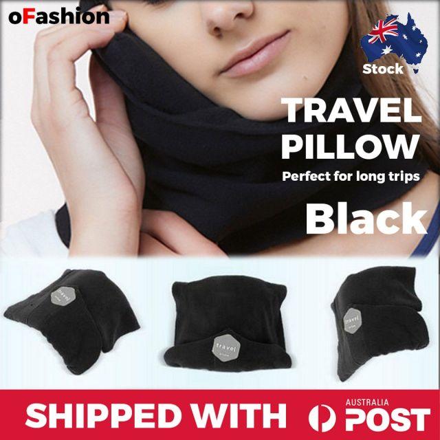 Travel Pillow Black