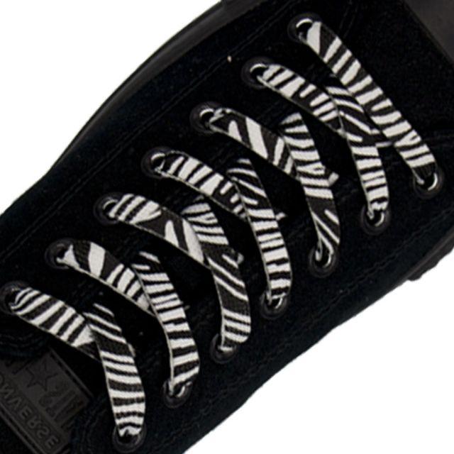 Zebra Fashion Shoelace