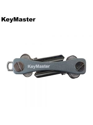 KeyMaster - Grey Smart Key Organiser Front