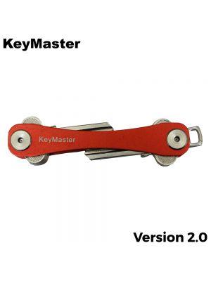 KeyMaster - Red Smart Key Organiser Front