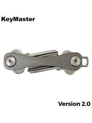KeyMaster - Grey Short Smart Key Organiser Front