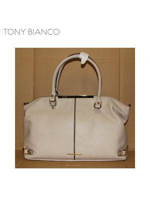 Margot Beige Tote Bag - Tony Bianco Handbags - Front